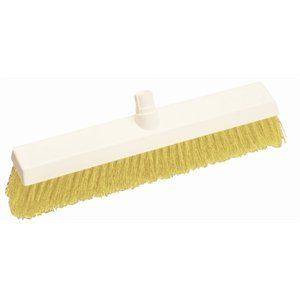 Hygiene Broom Head Soft Bristle 12 Broom Head Yellow Handles Sold Separately By Scott Young 48 44 Colour Coded To Prevent Cross Contamination Hand Broom