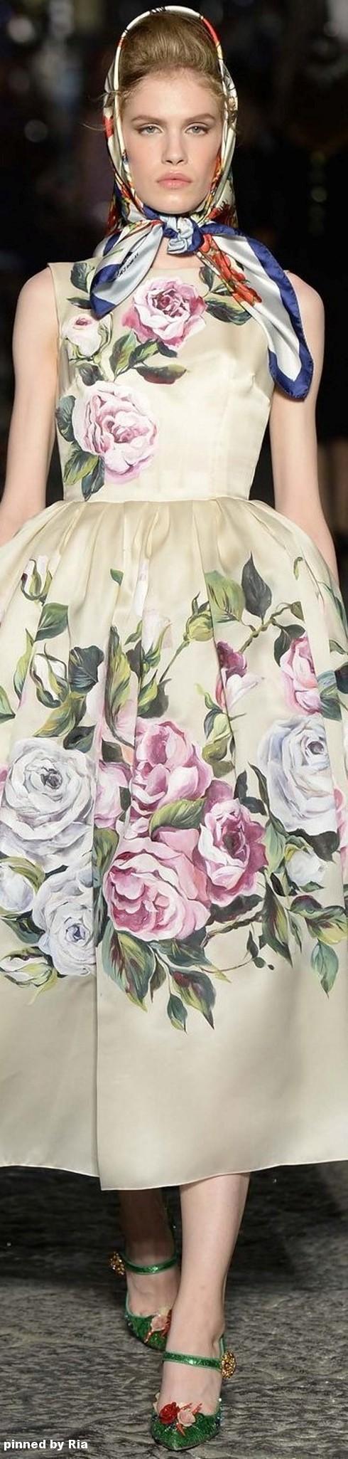 Dolce & Gabbana Alta Moda Fall 2016 l Ria