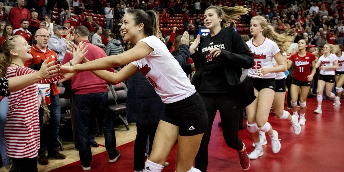 Nebraska Volleyball Team Will Play Sweet 16 Match On Friday Afternoon Volleyball Team Coaching Volleyball Volleyball