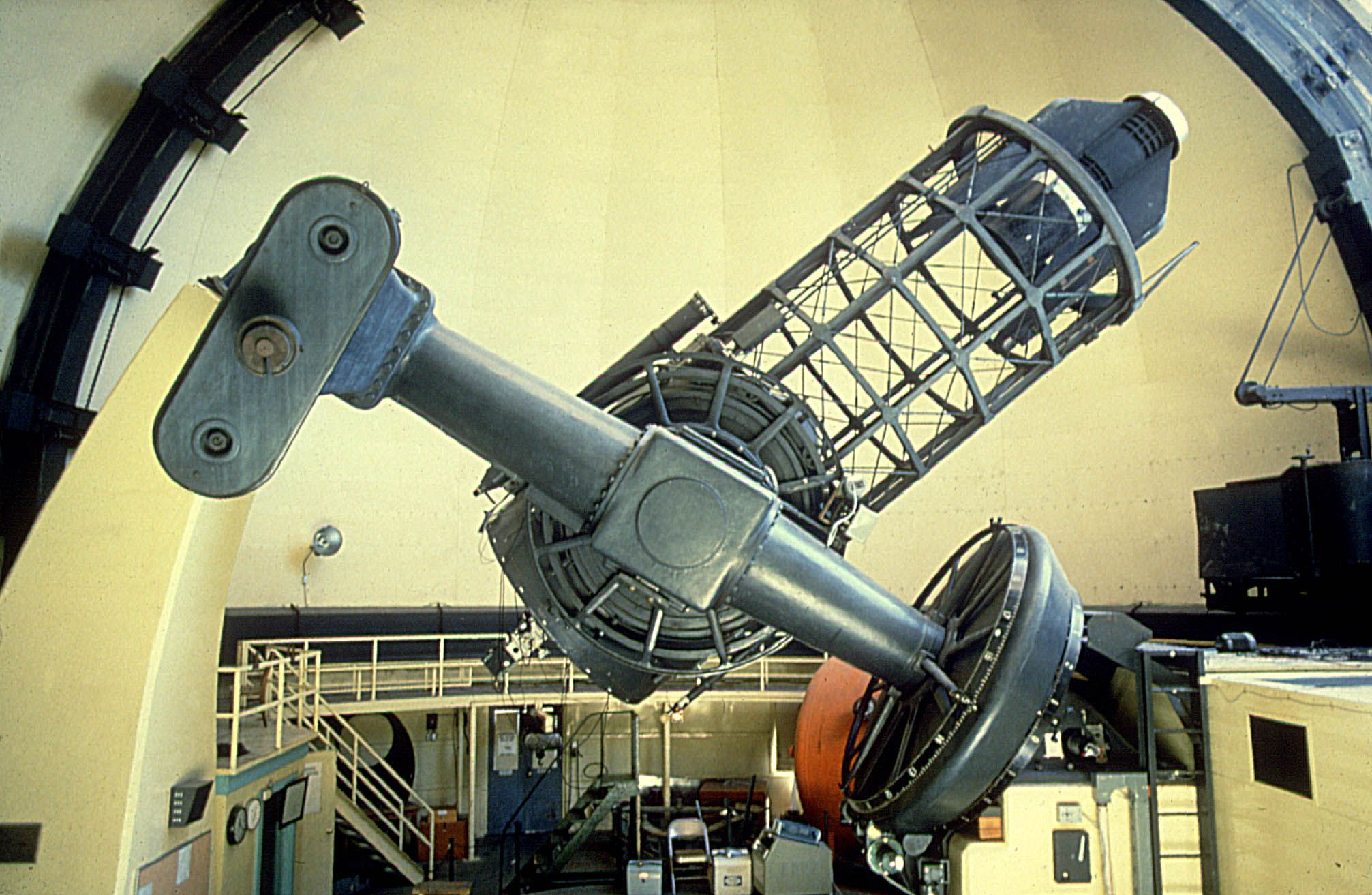 interior dome telescope