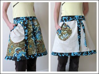 Modest Maven: Free Reversible Hostess Apron Pattern