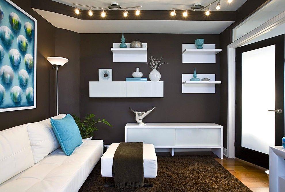 Warna Cat Ruang Tamu Yang Cantik Kombinasi Warna Cokelat