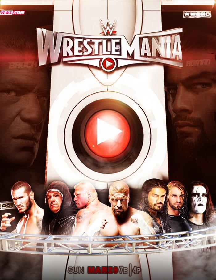 Browse Art Deviantart Wrestlemania 31 Wwe Ppv Wrestlemania