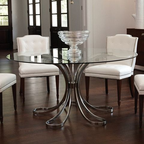 37+ Elegant round glass top dining table Trending