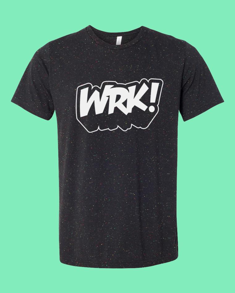 WRK! Speckled Tee