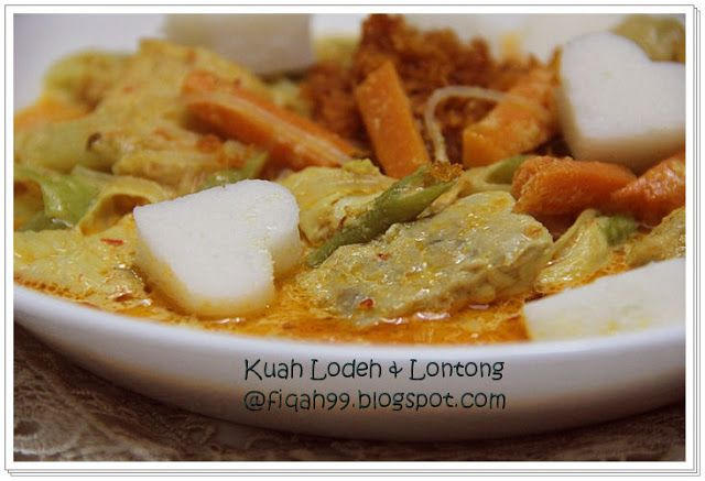 My Little Kitchen Kuah Lodeh Lontong Chef Wan Chef Wan Asian Recipes Cooking Recipes