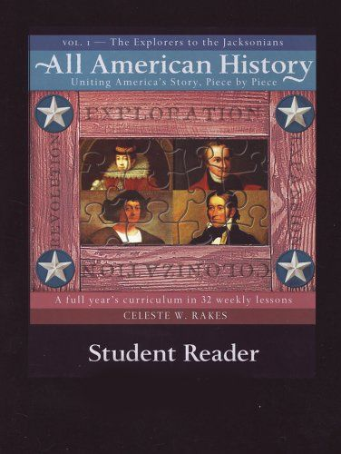 All American History Vol 1 Student Reader Brand Bright I Teaching American History Student Activities Teacher Guides