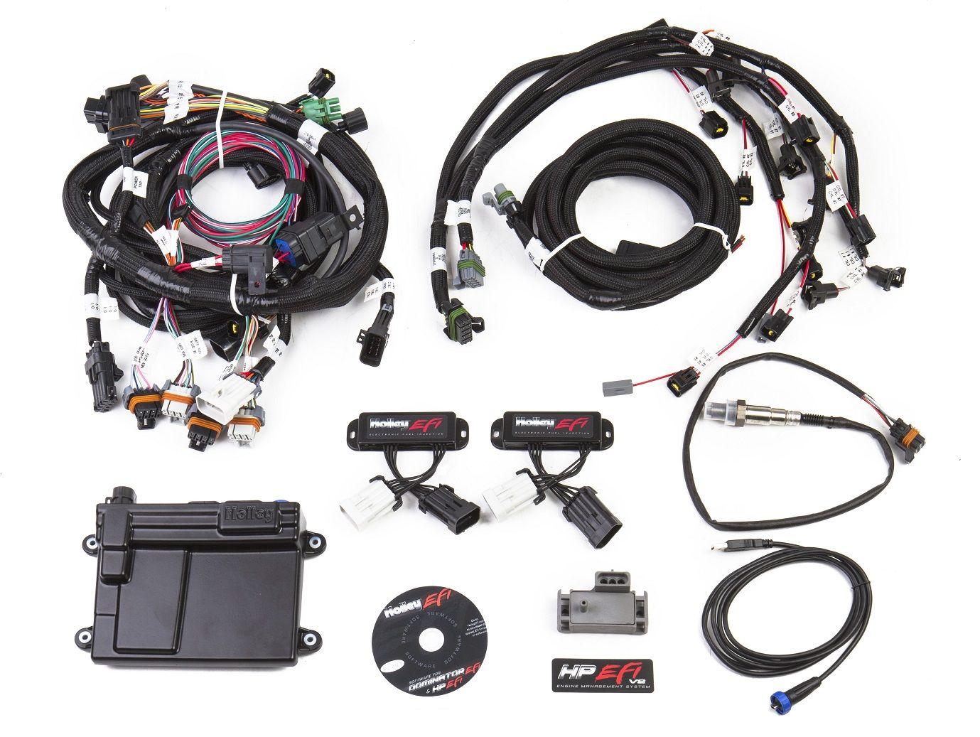 hight resolution of 550 616n hp efi ecu harness kits