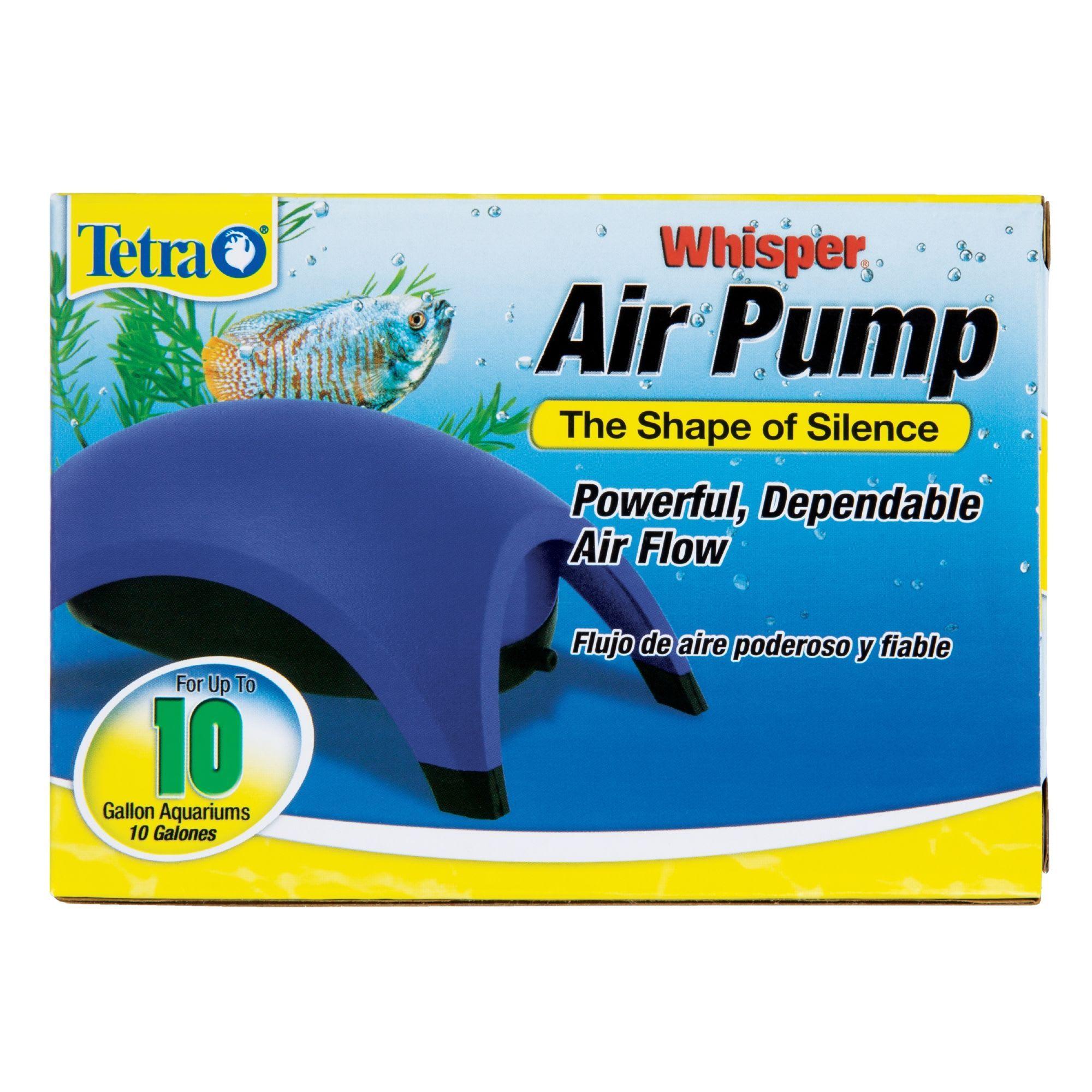 Tetra Whisper Aquarium Air Pump For 10 Gallon Aquariums In 2020 Aquarium Air Pump Air Pump Aquarium