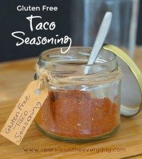How to make homemade Gluten Free Taco Seasoning! I have just got to say it… we love Tacos! We love everything about them, their crunch (we like the hard ones), how easy they are to make, how everyone can design their own and best of all they are gluten free! Often though, store bought packet taco...Read More »