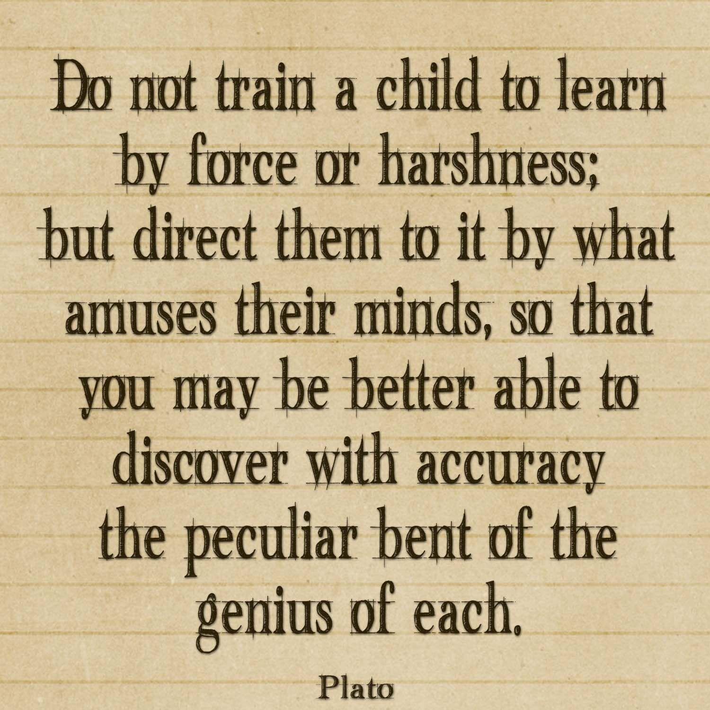 I love this quote each child has their own unique genius