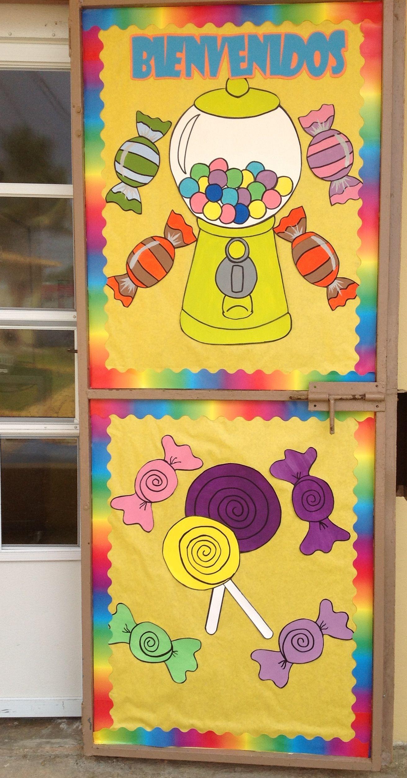 Puerta sal n mi sal n de clases pinterest decoracion for Decoracion para puertas de salon de clases