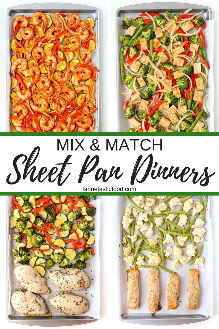 Mix & Match Sheet Pan Dinners images