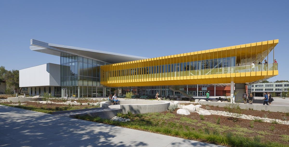 Student Center Design Completed At Los Angeles Valley College Lpa Inc Student Center Valley College Facade Architecture