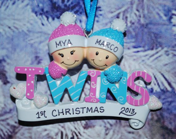 Free ornament gift bag personalized twins boygirl christmas free ornament gift bag personalized twins boygirl christmas ornament on etsy 1099 negle Gallery