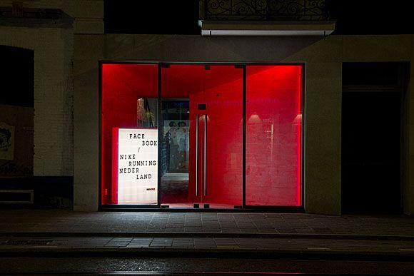 amsterdam: nike run house opening