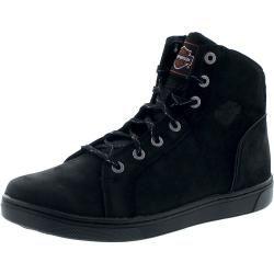 Harley-Davidson D97080 Watkins Ce Black Herren Hig-Top Sneaker – schwarz