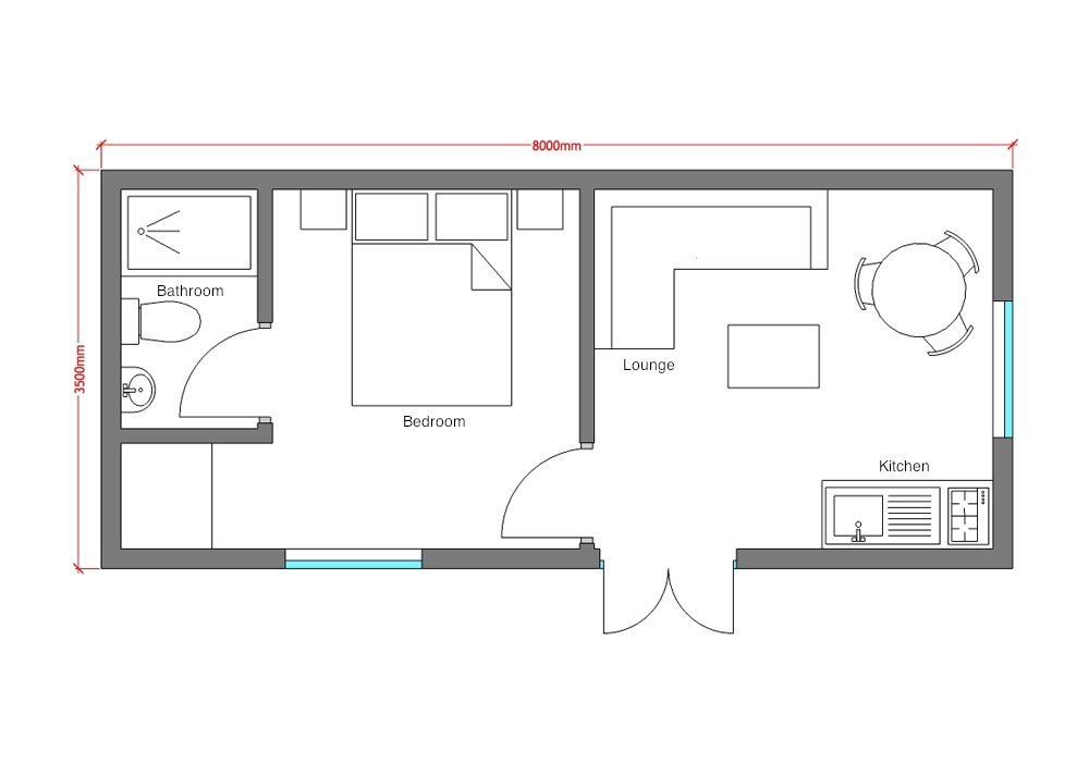 House plans with granny flat uk for Granny flat above garage