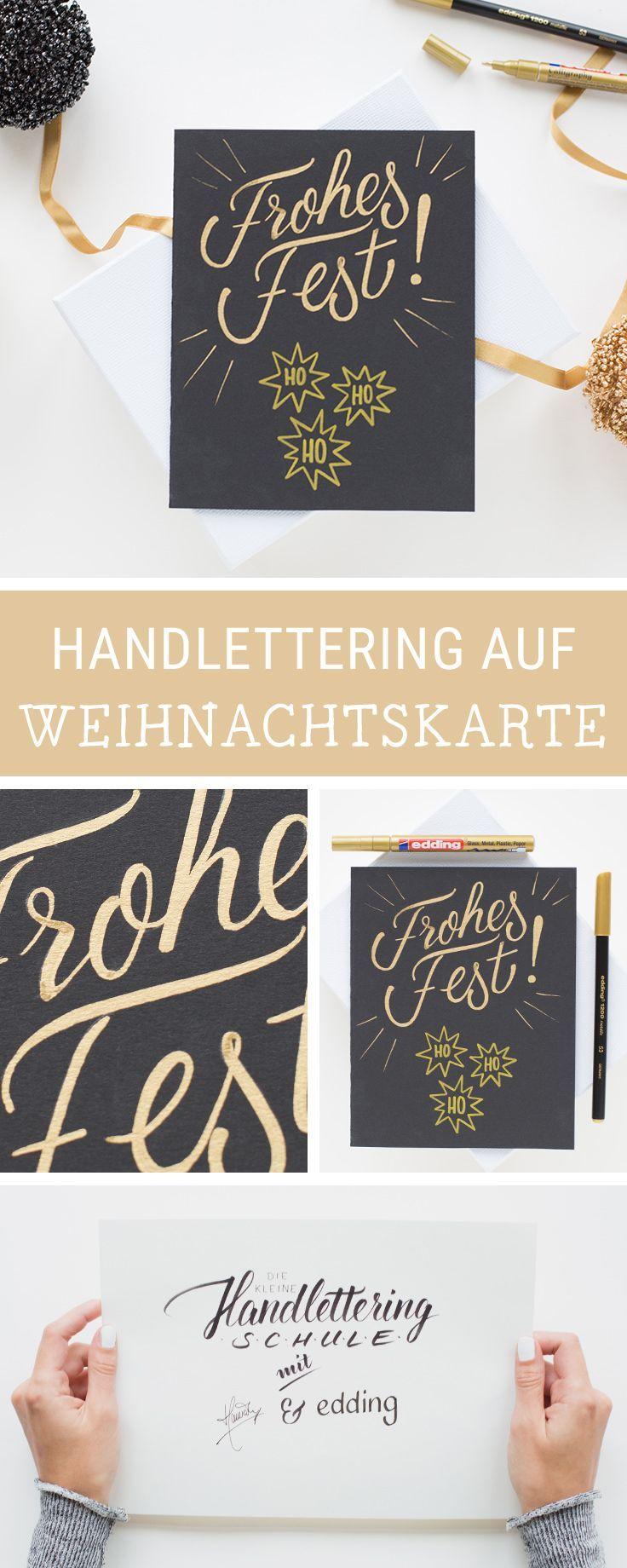 diy inspiration f r gestaltete weihnachtskarten wir. Black Bedroom Furniture Sets. Home Design Ideas