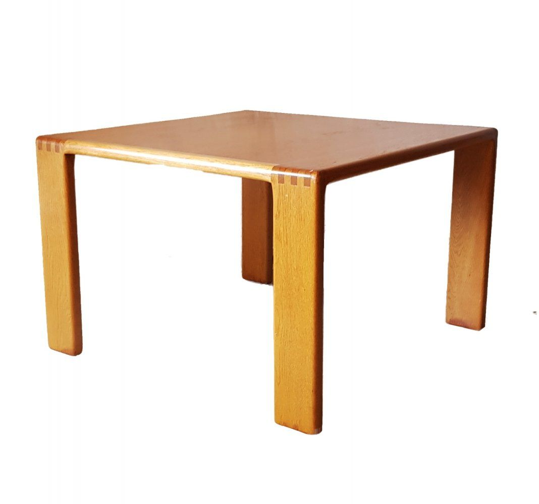 For sale solid oak coffee table by esko pajamies solid