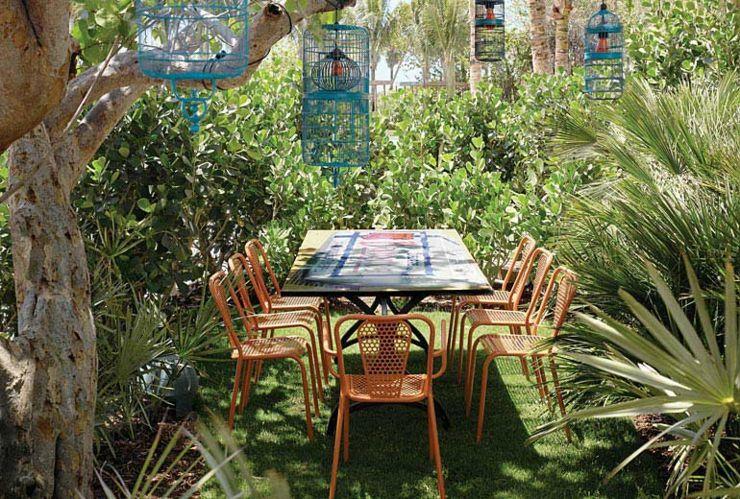 Bar al aire libre para momentos íntimos y relajantes