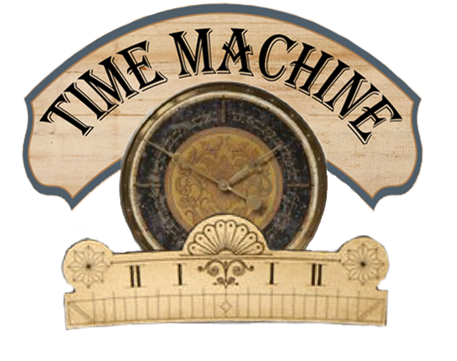 Artfully Musing Time Machine Graphic Time Travel Machine Time Travel Paper Dolls