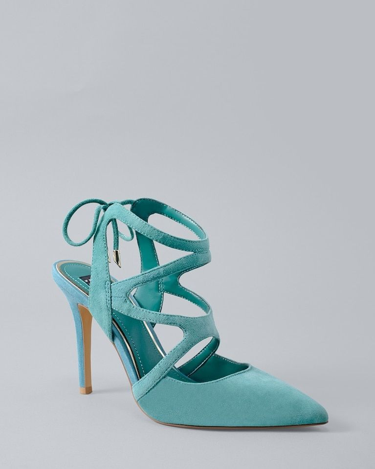 9b9352bbb87c Women s Marlow Suede Strappy Heels by White House Black Market ...