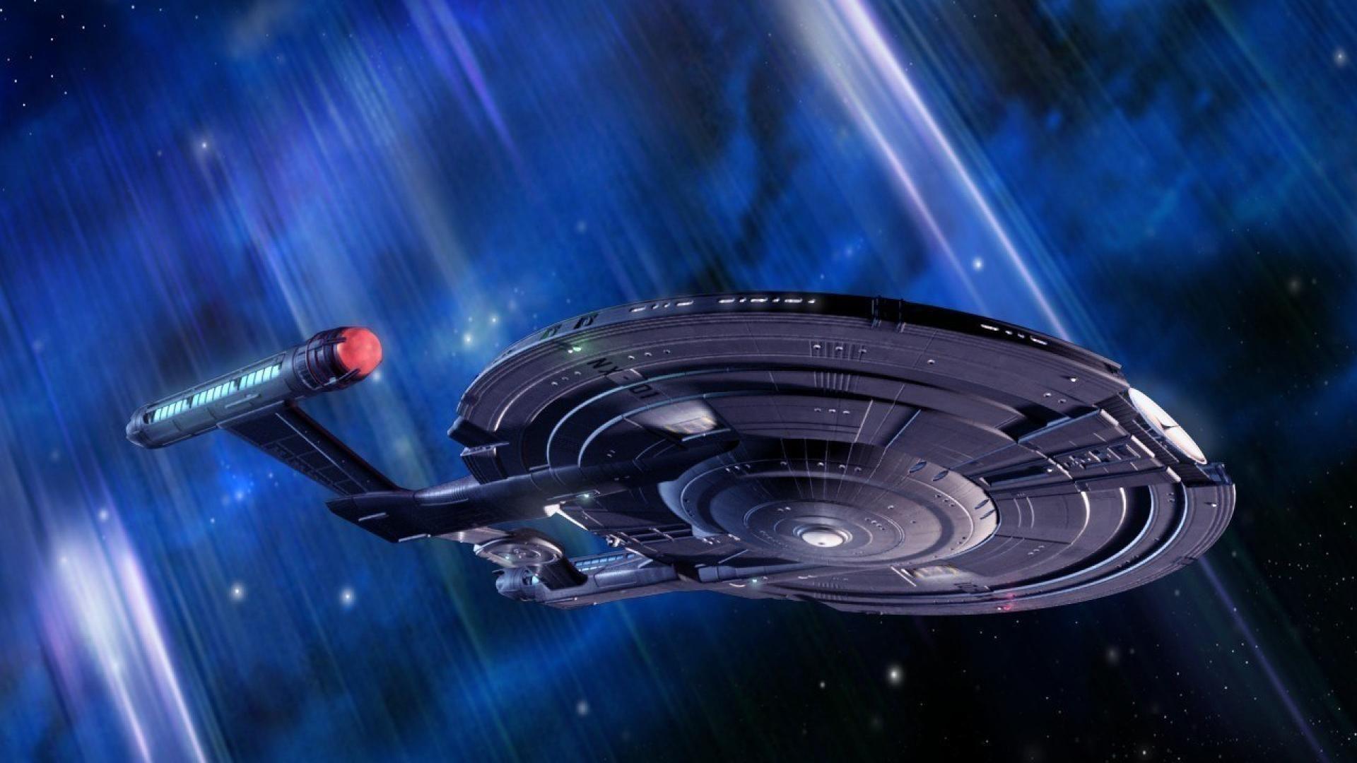 Star Trek Enterprise Spaceship Space Ship Stars Movie Hd