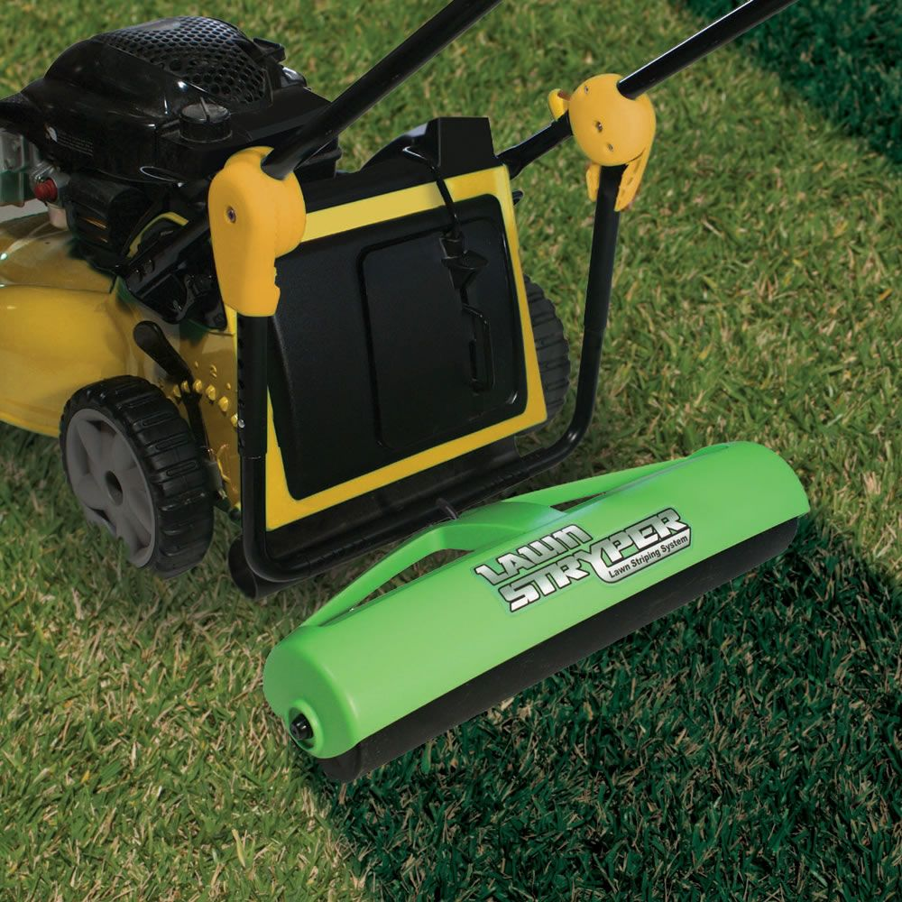 Make Stripes In The Yard Just Like The Pros Lawn Striping Lawn Rollers Lawn