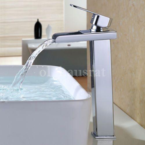 Wasserhahn Gäste Wc armatur hochdruck waschbecken wasserfall wasserhahn einhand