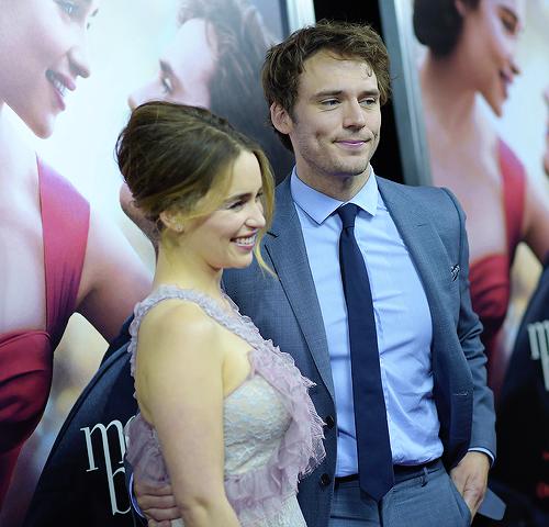 Emilia Clarke et Sam Claflin 23 Mai 2016 in New York City.
