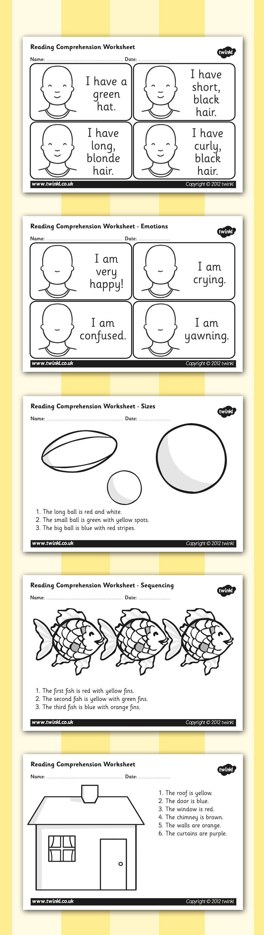 Twinkl Resources Reading Comprehension Worksheets Higher – Sen Maths Worksheets