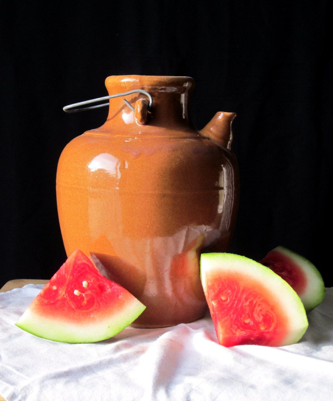 Jug With Watermelon Gallery Lillian Bell