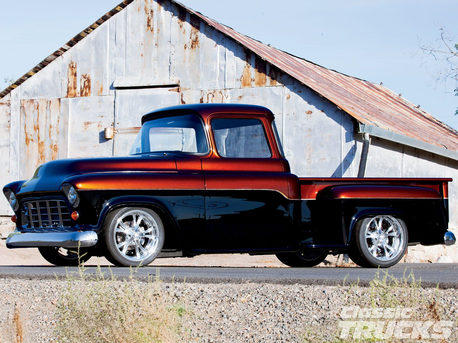1955 Chevy 3100 Desktop Wallpaper 1600x1200 With Images