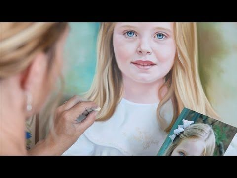 Drawing a child in colored pencil portrait tutorial by lachri youtube