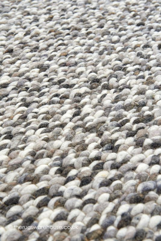Canberra City Rug Texture Close Up A Luxury Felted Wool Chunky Hand