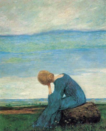 Heinrich Vogeler - Musing