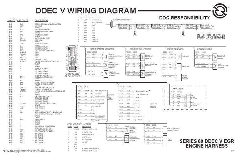 1531934524 V 1 At Ddec Vi Wiring Diagram Diagram Detroit Diesel Detroit