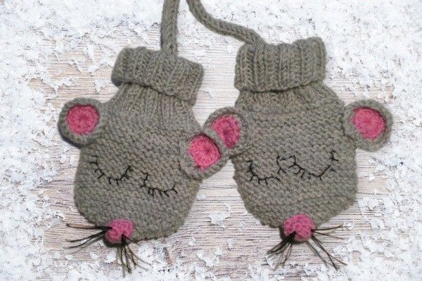 Photo of Strickmusterhandschuhe für Babys – Tiermotive