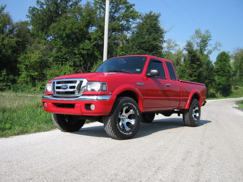 cool ford ranger | maxed tosrion bars 3 bodylift 31 tires 16x8 rims
