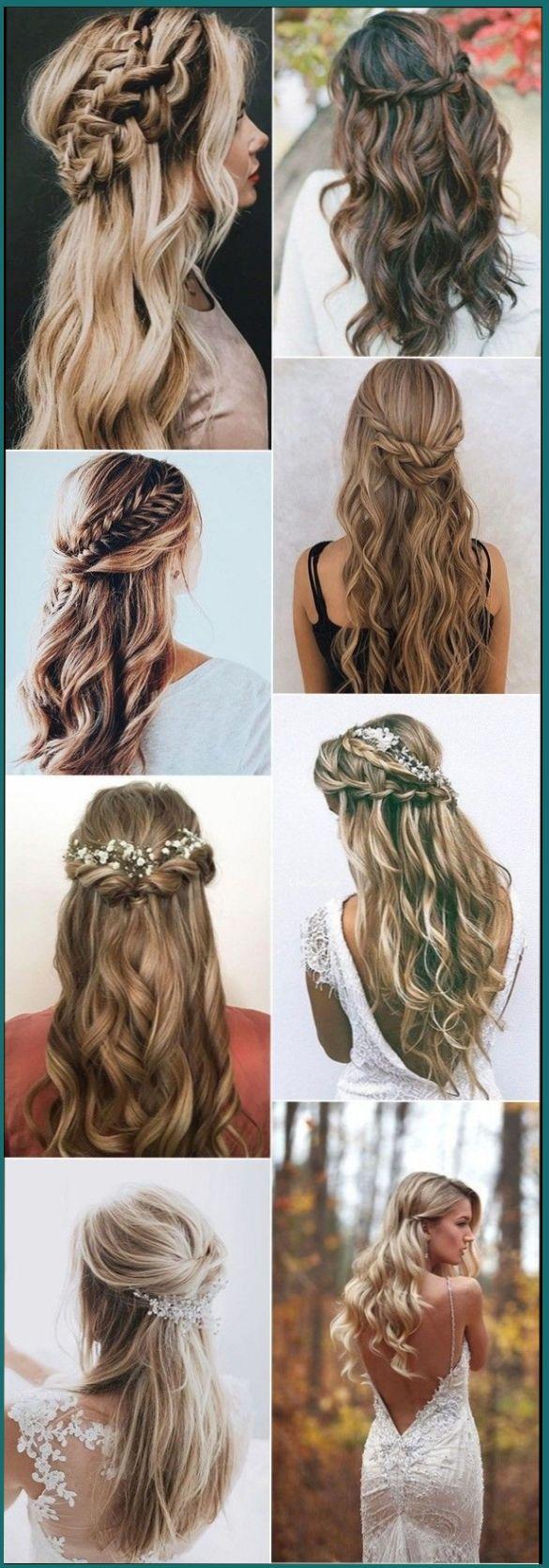 23 Peinados Para Damas De Honor 2019 Peinados Peinadosfaciles Peinadospara Peina Peinados Para Damas De Honor Peinados Pelo Suelto Boda Peinados Para Boda