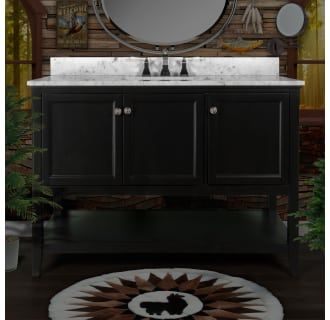 View the Miseno MVA4821 Pescara 48 Free Standing Vanity Set with Wood Cabinet, Natural Stone Top, and Undermount Sink - Mirror Sold Separately at Build.com.