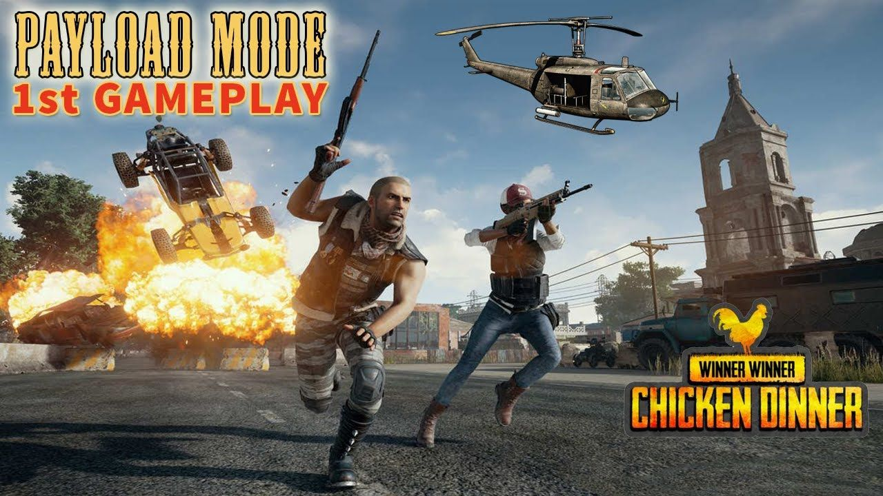 PUBG MOBILE MY FIRST PAYLOAD MODE GAMEPLAY PUBG 0.15.0