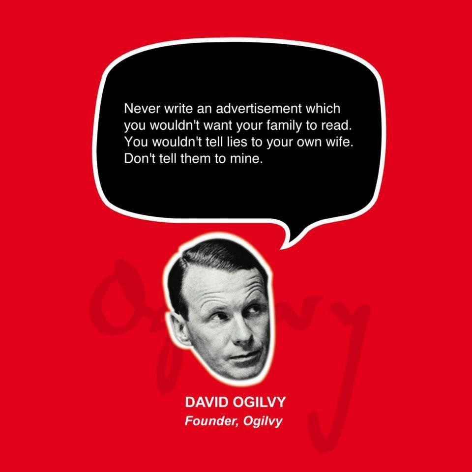 David Ogilvy Quotes Your Friday Ogilvyismcreatedour Ogilvy Mocambique Office