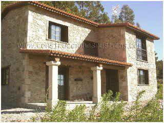 casa rstica de piedra de dos plantas de dormitorios