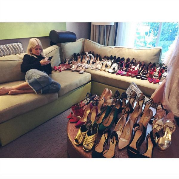 """Not enough shoes. #SAGawards"" —Beverly Nguyen"