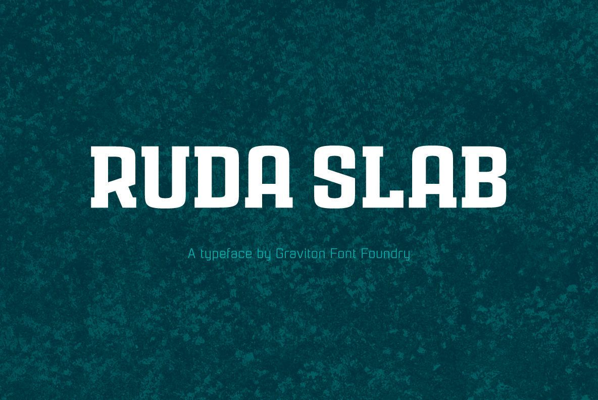 Rauda Slab Desktop Font & WebFont YouWorkForThem