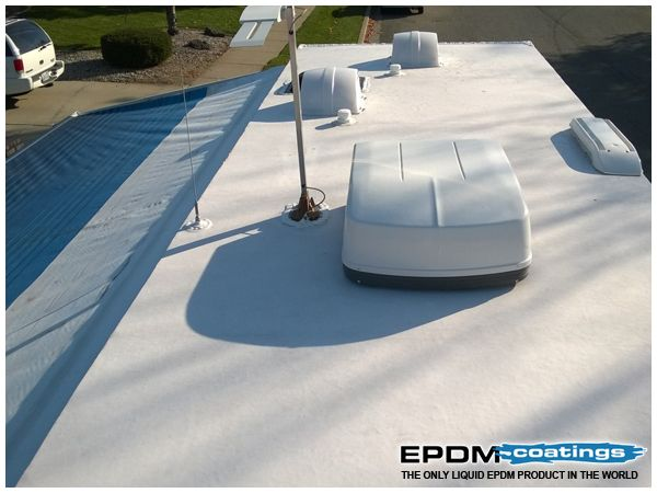 Good News For Rv Owners You Don T Need To Be An Expert To Perform Repairs In 2020 Roof Leak Repair Rv Roof Repair Liquid Roof