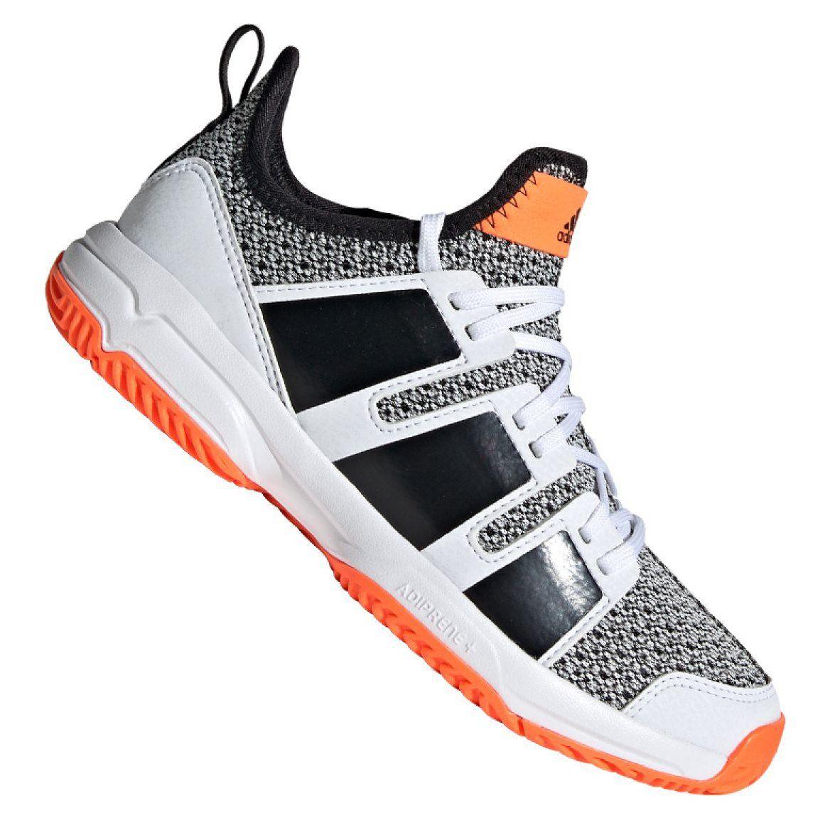 Buty Do Pilki Recznej Adidas Stabil Jr F33830 Wielokolorowe Szare Puma Fierce Sneaker Top Sneakers High Top Sneakers