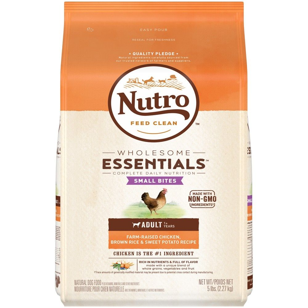 Nutro Wholesome Essentials Small Bites Chicken Rice Dry Dog Food